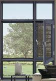 Double vitrage Windows de tissu pour rideaux d'interruption thermique en aluminium de guichet