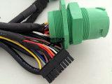 Molex 3.0の糸のコネクターを持つJ1939 9pの男性への2*10p男性