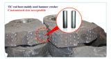 Tic штанга вставок карбида стали Bonded для высокой головки дробилки молотка Mn стальной