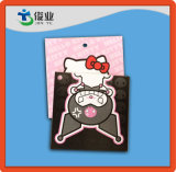 Cardboard Paper Hang Tags with Character Cartoon