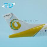 1/100 di modello decorativo di modello Aero dei velivoli di linee aeree Atr72-600 di 27cm Myanmair