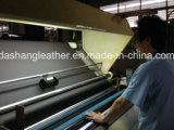 Synthetische lederne Fabrik in Guangzhou (C-120)