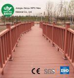 Revestimento plástico de madeira impermeável de WPC