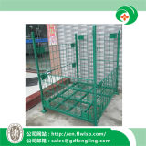 Jaula plegable modificada para requisitos particulares del almacenaje para el almacén con Ce