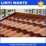 Mattonelle di tetto rivestite del metallo della pietra variopinta con l'isolamento termico