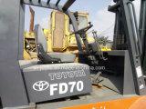 使用されたトヨタFd70 7トンのフォークリフト(2.5Ton 3Ton 5Ton 7Ton 10Tonのフォークリフト)