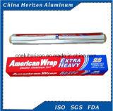 roulis de papier d'aluminium de ménage de la qualité 11mic