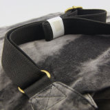 女性の余暇のキャンバスのバックパックのファッション小物のための洗浄されたジーンズのバックパック