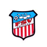 Distintivo personalizzato del ricamo della mano di sport di calcio