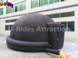 6 M Schwarzes Planetarium Mobile Aufblasbares Zelt, aufblasbares Astronomiezelt