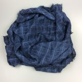 100% шарф хлопка Striped, шаль зимы для вспомогательного оборудования способа женщин