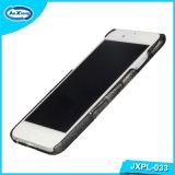 Caja para la cubierta de la caja del cuero de la PC del teléfono móvil para el iPhone 6, caso de lujo de la cubierta del tirón de la PU del cocodrilo para el iPhone 6/6s
