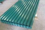 Folha ondulada do telhado do metal do Trapezoid de /Color das telhas de Ibr PPGI