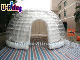5m de LEIDENE lichte duidelijke Opblaasbare Tent van de Bel als cabine voor gebeurtenissen