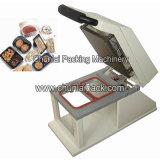 Máquina manual del lacre de la bandeja de los alimentos de preparación rápida Hs200
