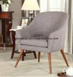純木の単一のソファーのコーヒーソファー木ファブリックソファー(M-X3121)