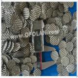 Protezione di titanio catodica della maglia dell'anodo per il sistema di raffreddamento dell'acqua di mare