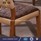 Mobília rústica Rattant de Industral do vintage que janta a cadeira