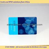 Cartão-chave com faixa magnética para albergue