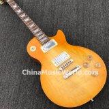 Guitarra elétrica padrão do Lp da música de Pango com uns corpo da parte & garganta (PLP-066)
