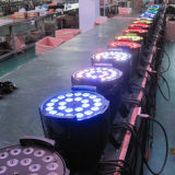 24X12W RGBW 4in1 PAR Can Thin LED luz del disco