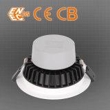 Aluminio vendedor caliente LED Downlight del sistema del control de calidad de la fabricación de la fábrica