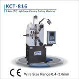 Axe 8 de Kcmco-Kct-816 0.4-2.0mm à grande vitesse et ressort de compression stable enroulant le pot tournant de Machine&Spring
