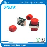 Adaptador FC Fibra Óptica para Rede de Transmissão de Fibra Óptica