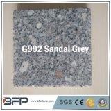 Nouvelle couleur en granit gris G992 sandale carreaux, dalles, des escaliers pour matériaux de construction