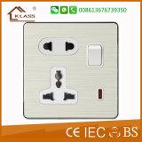 최신 판매 싼 가격 홈 전기 가벼운 벽 스위치 소켓