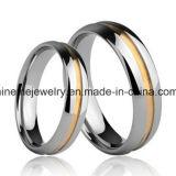 Joyería Shineme de alta calidad de la cáscara de tungsteno anillo Jewellry