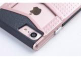Anti Slip Dual Layer V en forme d'étui antidéflagrant pour iPhone7