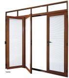Como2047 Certificed em alumínio com vidro duplo na janela Casement oscilante