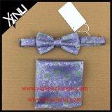 Commerce de gros hommes tissés personnalisés le cou et le filtre Bow Tie 100% Polyester