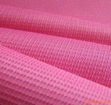 Tissu 100% de jacquard de point de perle de pongé de polyester pour des procès