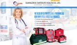 Saco Emergency dos primeiros socorros dos esportes do jogo de ambulância da grande capacidade do saco do salvamento
