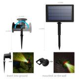 Lumière laser solaire à l'extérieur Éclairage paysager pour Garden Yard Décoration commerciale Décoration commerciale Lampes étanches Projecteur Star Starlight