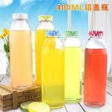 ジュース、ミルク、水ガラスのBottlsの飲むことのためのISOによって証明される450ml飲料のガラスビン