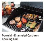 De aço inoxidável de alta qualidade 3 queimadores a gás ao ar livre churrasqueira