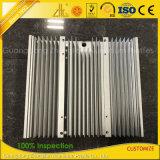 Zoll anodisierte verdrängten industriellen Aluminiumstrangpresßling-Kühlkörper