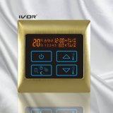 Bodenheizung-Thermostat-Noten-Schalter-Metallrahmen (SK-HV2000L8-L)