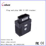 Perseguidor Coban GPS306 do sistema de seguimento GPRS do veículo OBD II GPS com cabo de extensão de 5m OBD