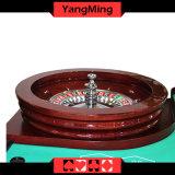 """Колесо рулетки стандартной твердой древесины 32 роскошного разыгрыша казина """" предназначенное для таблицы Ym-RW01 покера рулетки"""