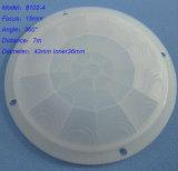obiettivo grandangolare del diametro PIR Fresnel di 43mm per il sensore 8102-4 di PIR Morion