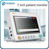 Nuevo - monitor paciente de 7 parámetros multi de la pulgada para la operación Handheld