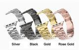 Appleの時計バンドのリスト・ストラップのための38mm 42mmのステンレス鋼の時計バンド