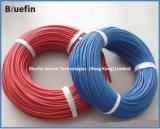 El cable y el alambre de cobre, PVC del conductor aislaron el alambre eléctrico y el cable