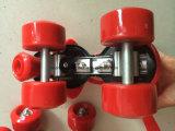 低価格の調節可能な4つの車輪のローラースケートで滑る靴