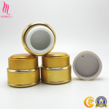 30ml botella cosmética personalizada de Oro a la Crema Paquete