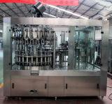 Rotatorio automático de plástico taza de relleno y sellado máquina de etiquetado